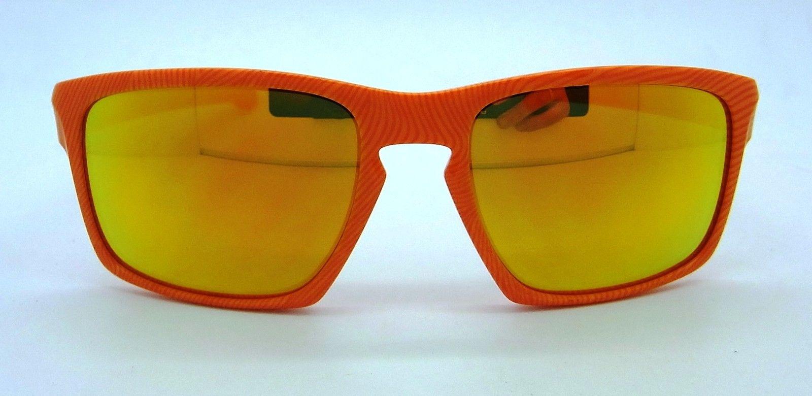 12e8ab63b0 Oakley Sliver Fingerprint Sunglasses Atomic Orange w  Fire Iridium 9262-16