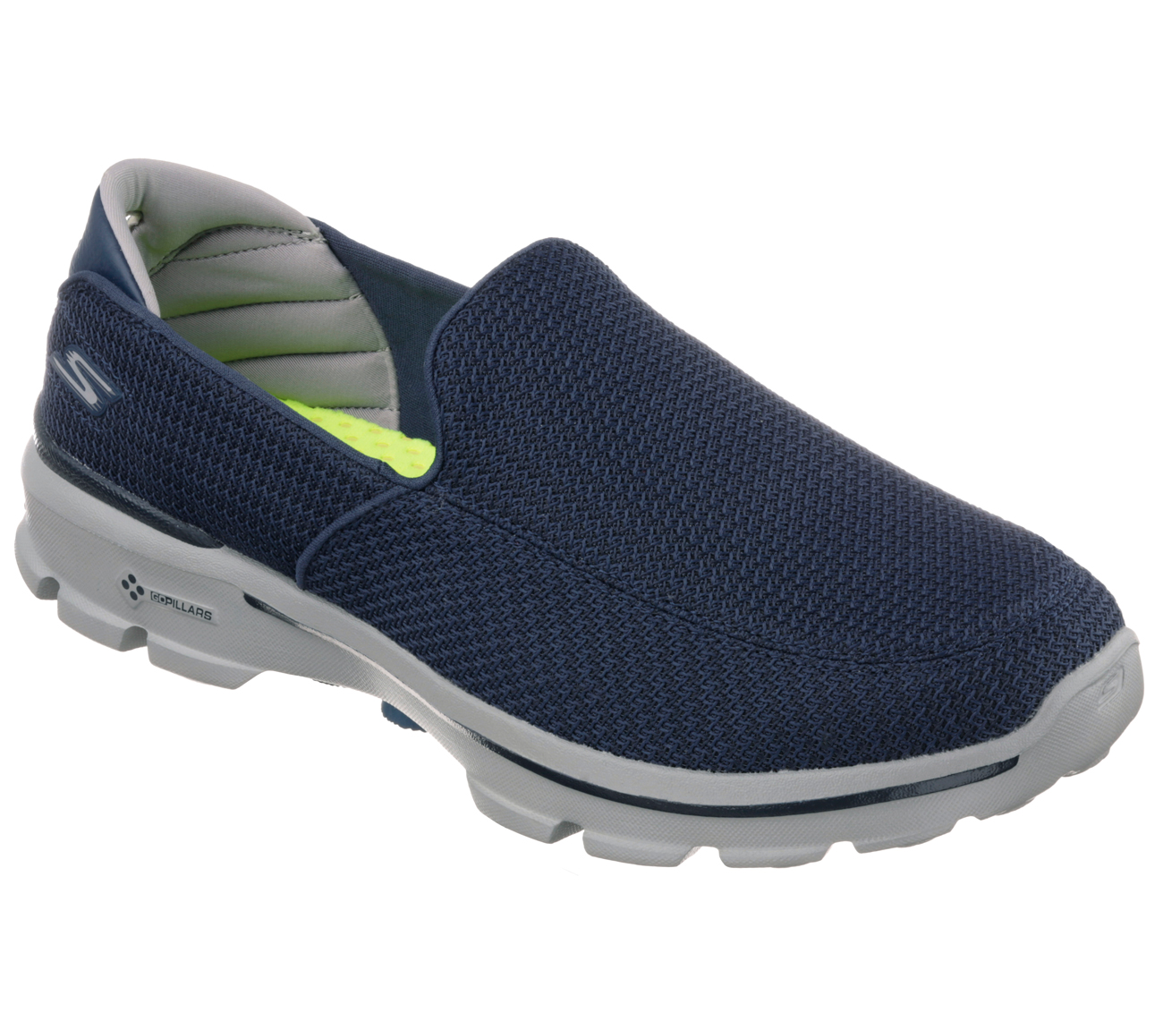 Skechers Mens Go Walk 3 Slip On Walking Shoes Lightweight