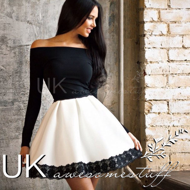 Black dress size 6 in uk