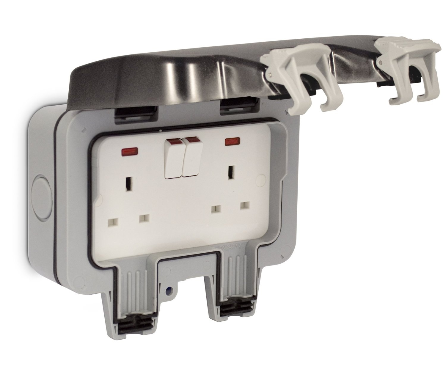 Bg Nexus Twin 13a Dp Switched Double Socket Outdoor