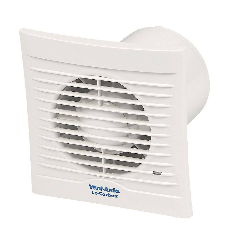 Vent Axia Lo Carbon Silhouette 100t Extractor Fan Vent Axia Lo Carbon Silhouette 100 Fans
