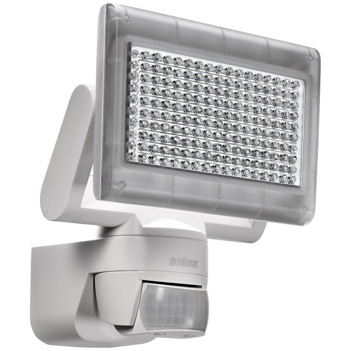 steinel xled home 1 led pir floodlights for 150sq m area. Black Bedroom Furniture Sets. Home Design Ideas