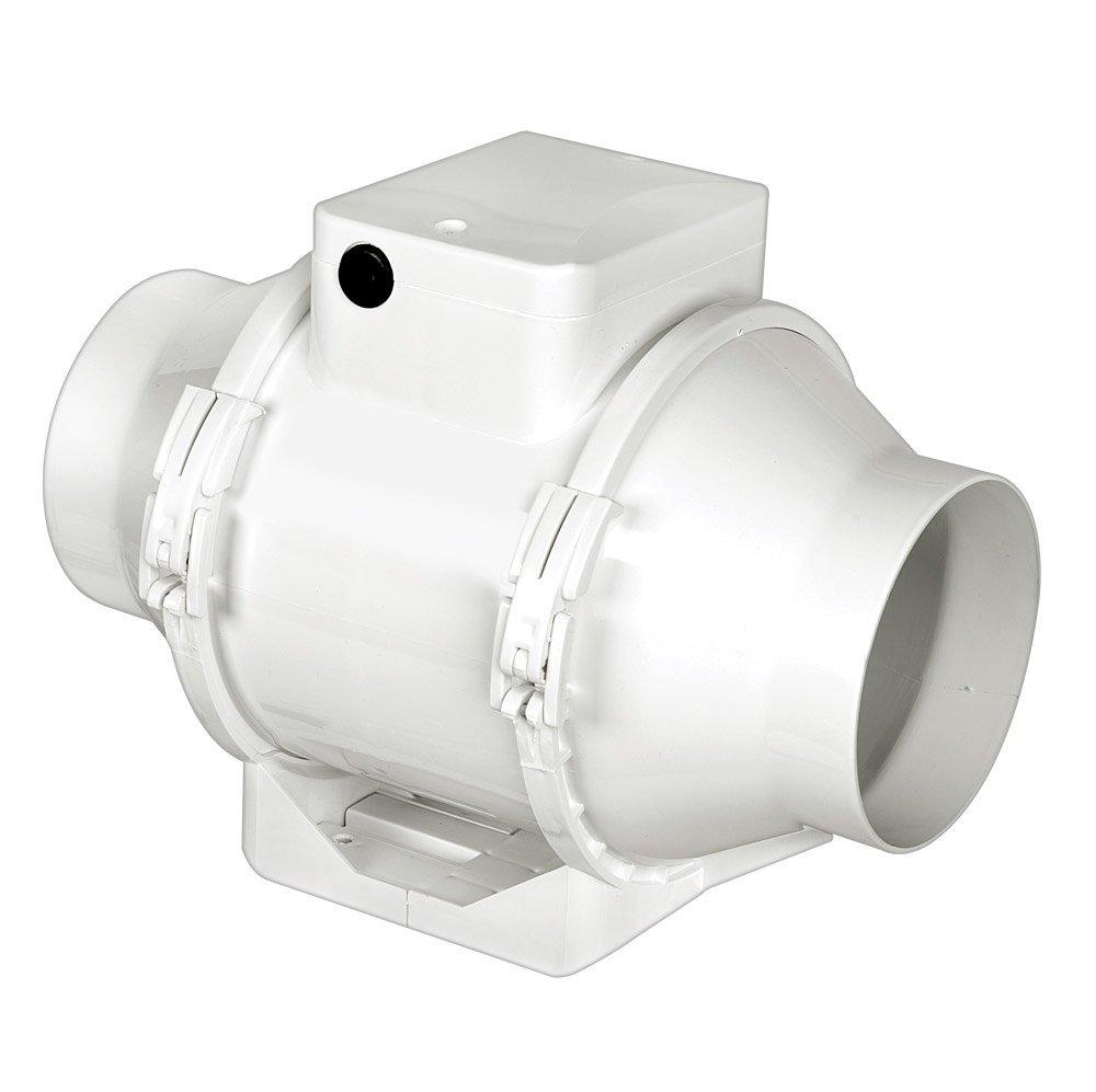 Airflow Aventa 100mm 4 Bathroom Shower Toilet Inline Loft Extractor Fan Av100 Ebay