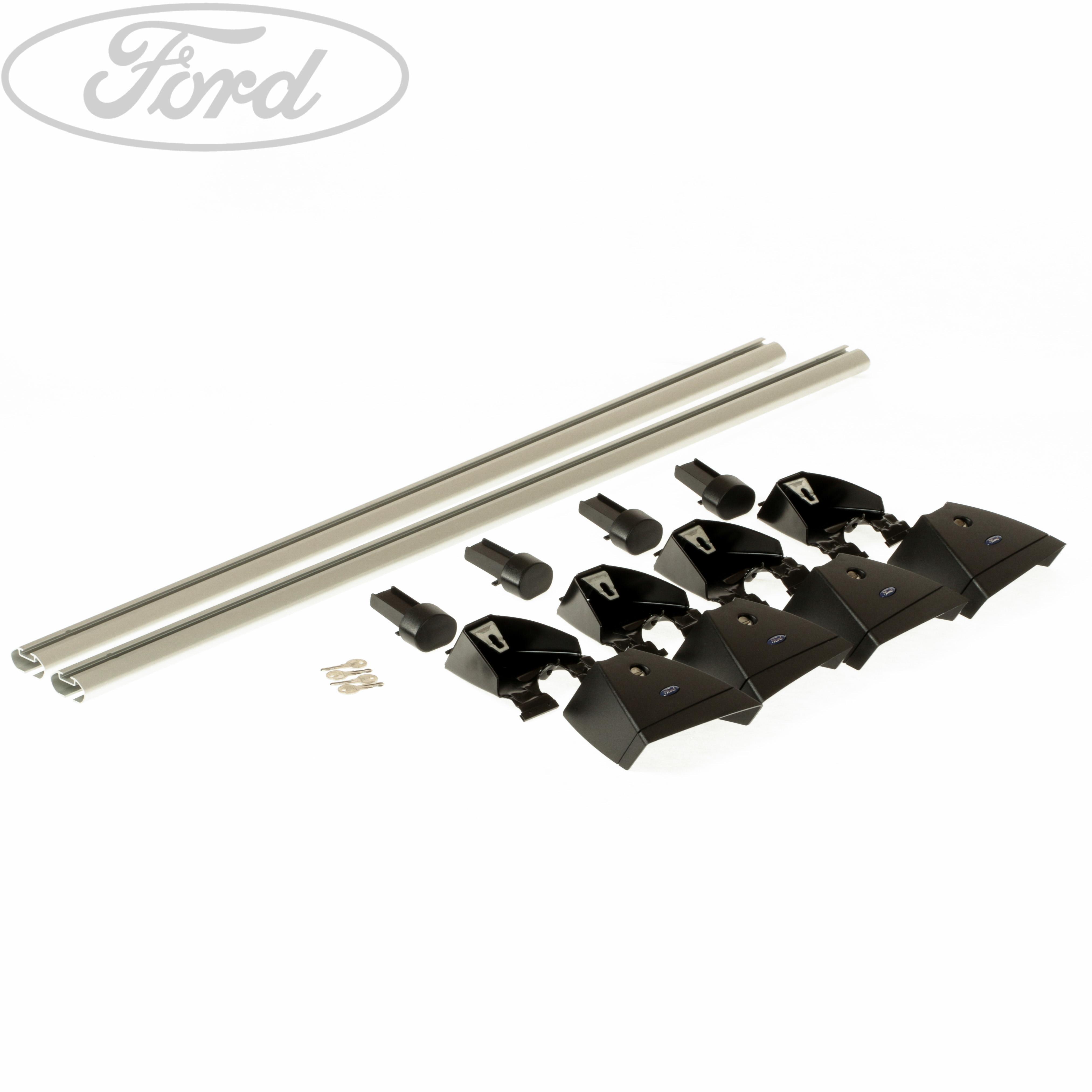 genuine ford c max cmax roof bar rack rail kit 2003 2012 1724672 ebay. Black Bedroom Furniture Sets. Home Design Ideas