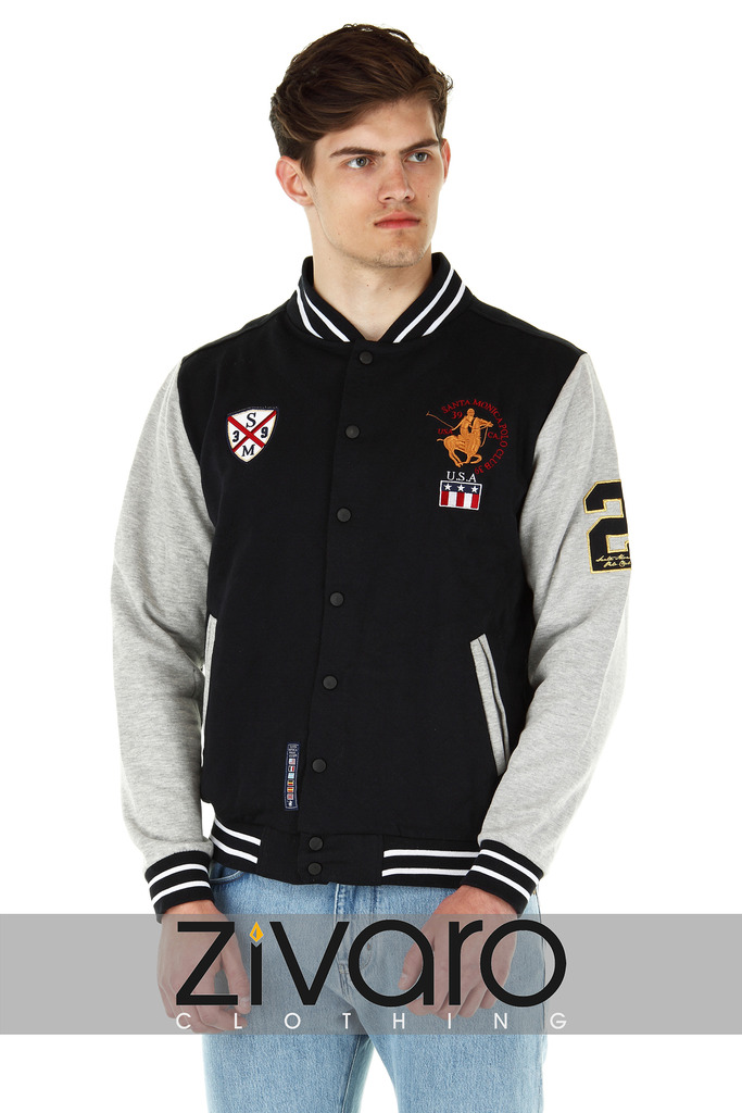 Mens Varsity Jacket American Letterman Baseball Style by SMPC