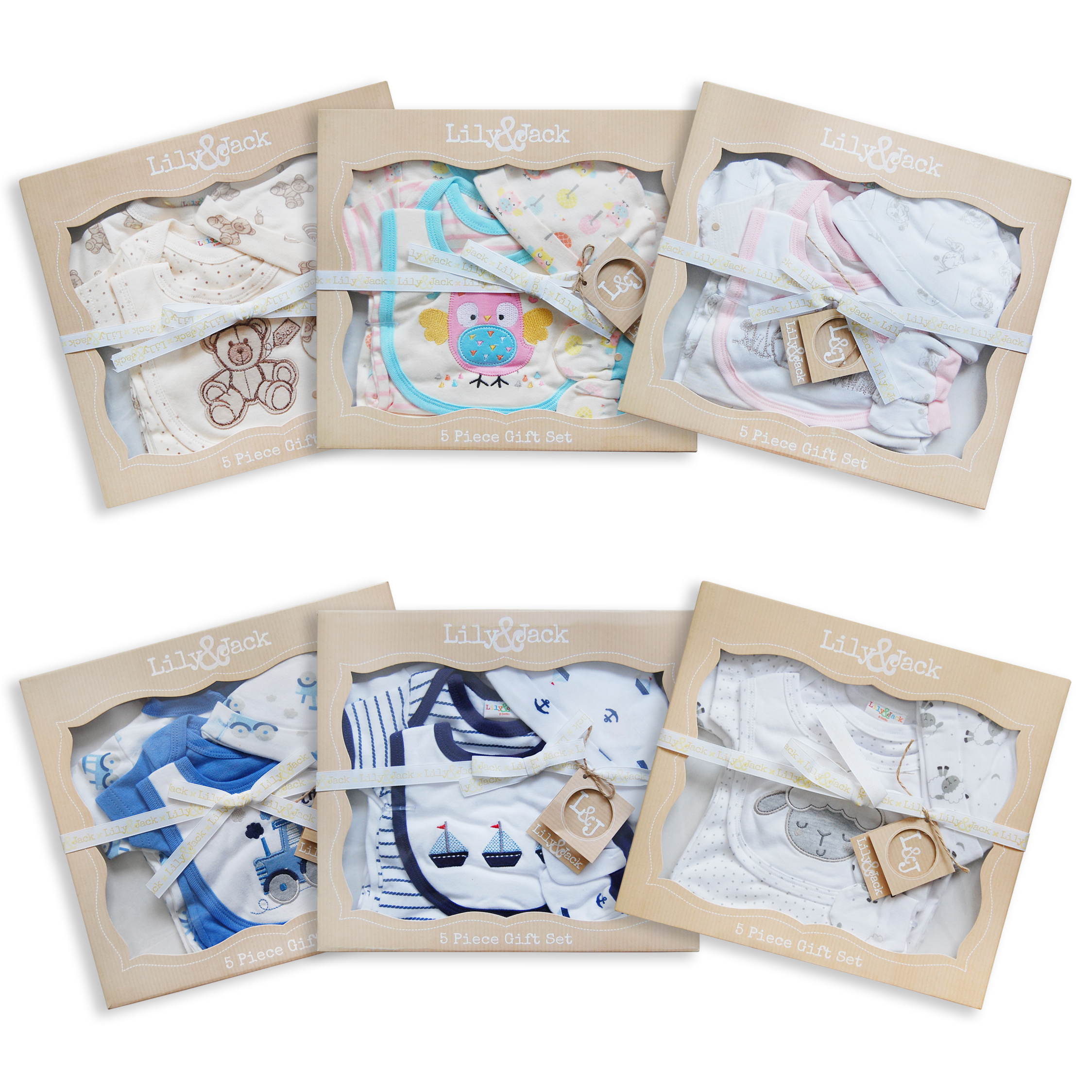 Baby Boy Gifts Sets : Piece baby boys girls layette designer clothing gift set