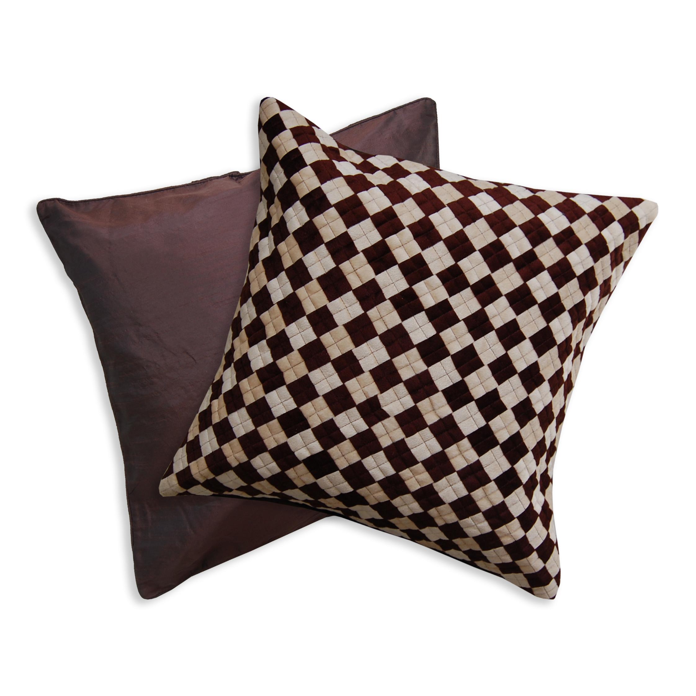 Dark Shade Design Luxury Polyester Pillow Case Cushion