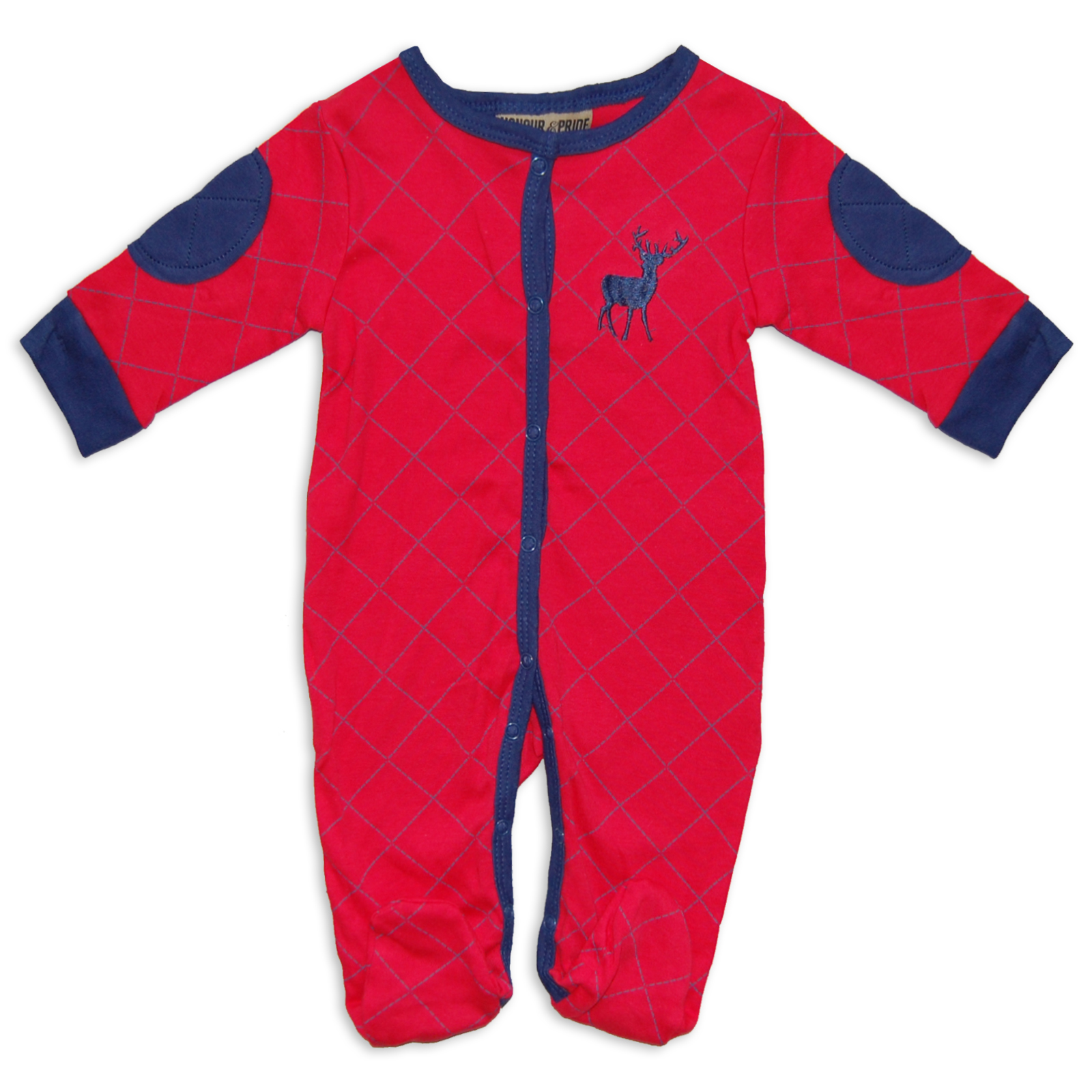 5 piece Red Clothing Layette Baby Boys Festive Set/Outfit With Stag Design | eBay