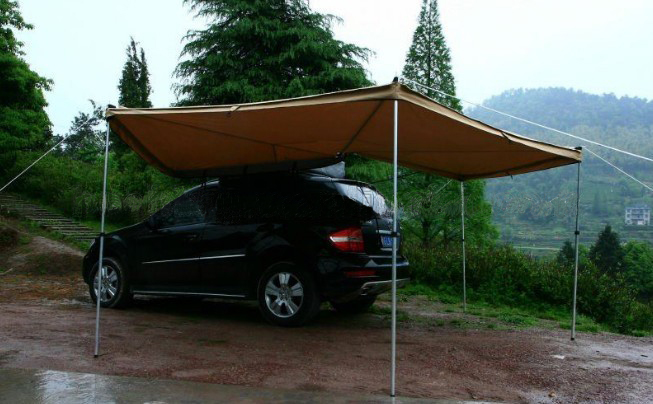 Hawk Wing Awning For 4X4S Vans And Camper Vans Pull Out ...