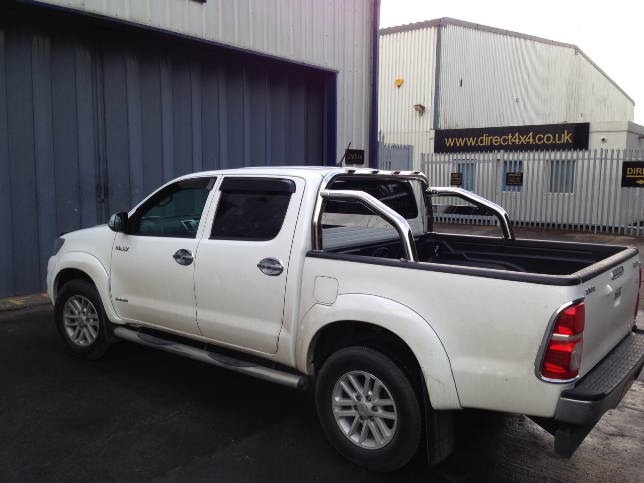 Toyota Hilux Vigo 2012 2016 Stainless Steel Roll Bar