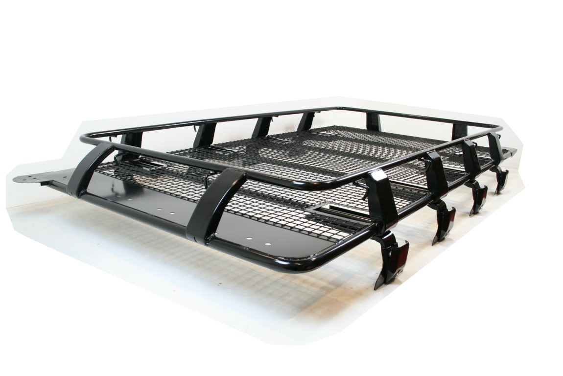 land rover defender titan roof rack heavy duty expedition. Black Bedroom Furniture Sets. Home Design Ideas