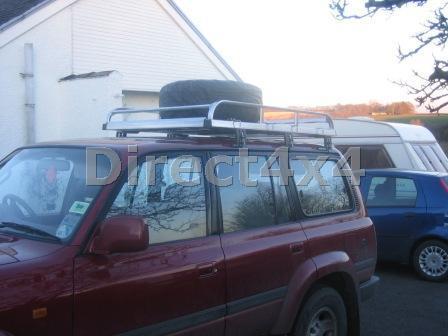Mitsubishi Pajero Shogun Roof Rack Roof Box X04 Exterior ...