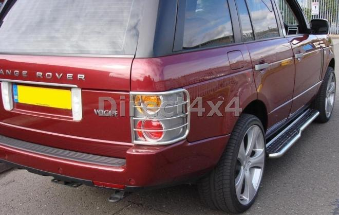 land range rover sport 2005 2012 rear tail light guards. Black Bedroom Furniture Sets. Home Design Ideas
