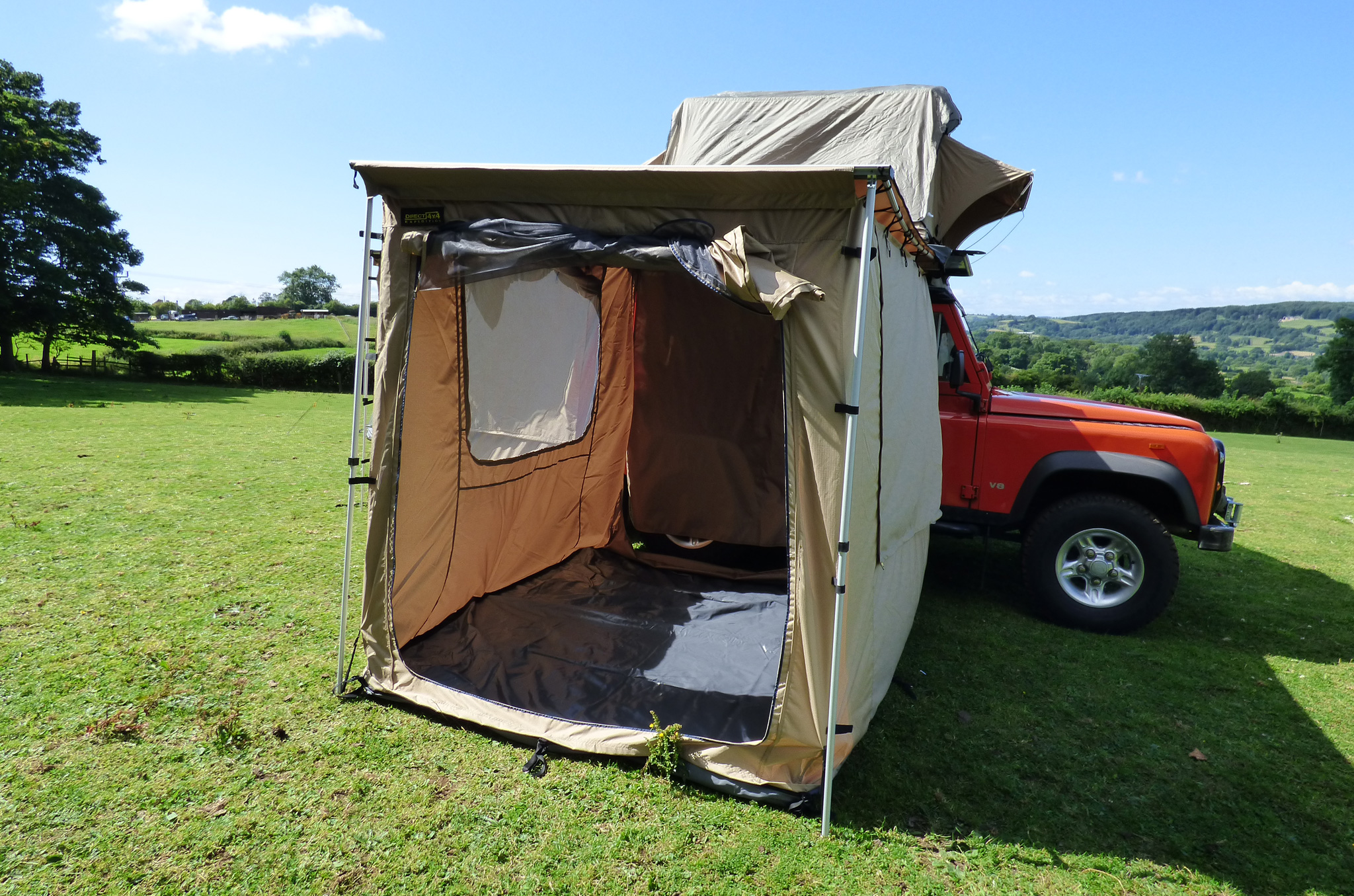 2 0m X 2 5m Expedition Awning Outdoor Tent For 4x4s Vans