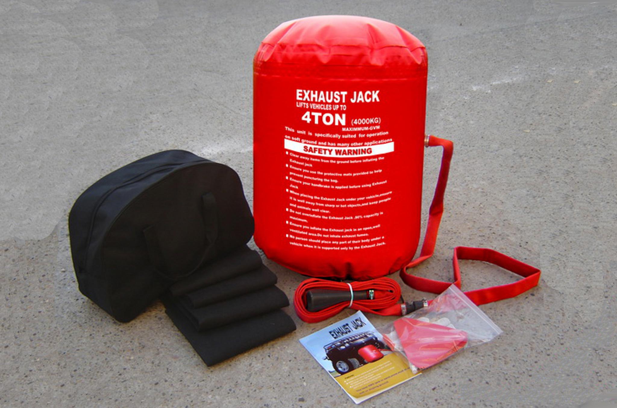 Aria Di Scarico Jack 4 2 T 4x4 Off Viabilit 224 Veicolo