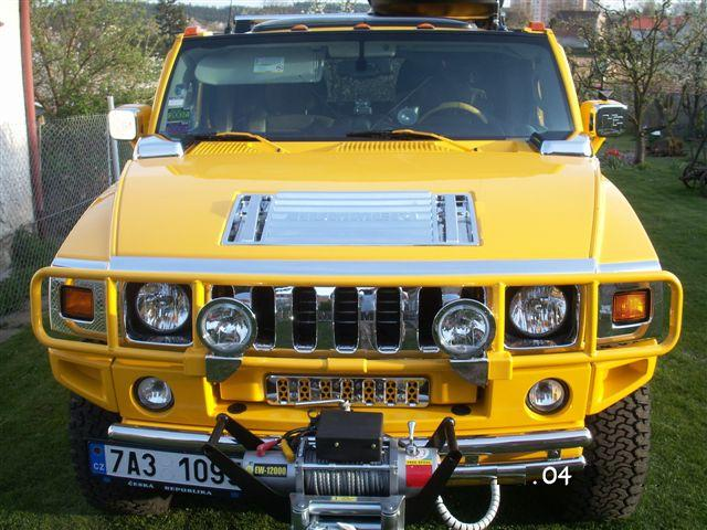 Chrome Bonnet Hood Vent Cover Trim For Hummer H2 From Uk