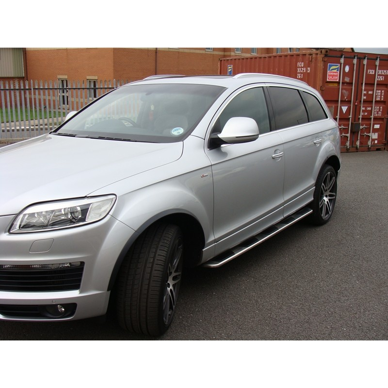 Audi Q7 2005-2015 OEM Style Stainless Steel Side Steps And