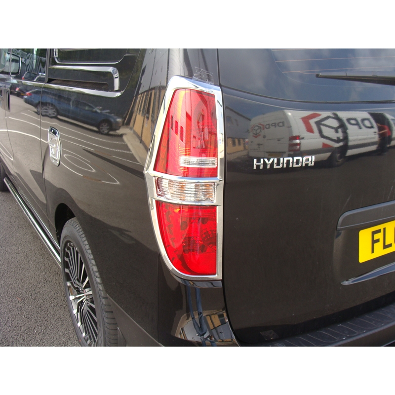 Hyundai I800 Price: For Hyundai I800 ILoad Chromed Tail Light Surrounds