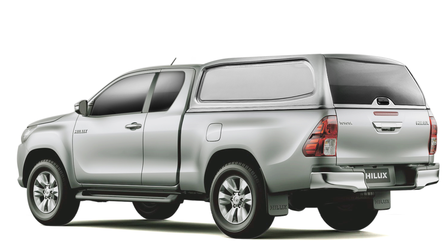 toyota hilux 2016+ double cab silver blade 1d6 solid sided smm v2