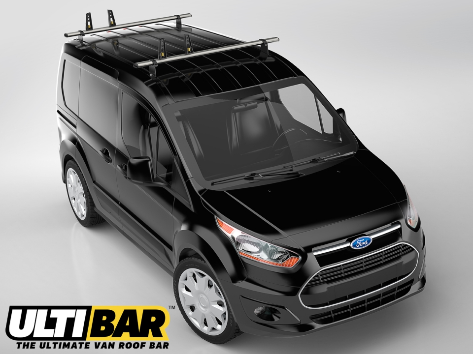 Van Guard Ford Transit Connect L1h1 2ulti Roof Bars Amp Pull