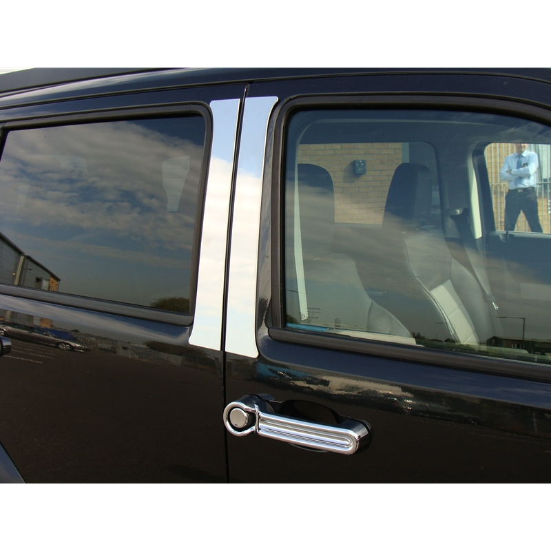 Dodge Nitro S S Door Pillar Covers Trim High Polished