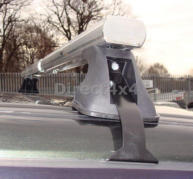 Toyota Aluminium Roof Spot Light Bar Gutterless Fix C62