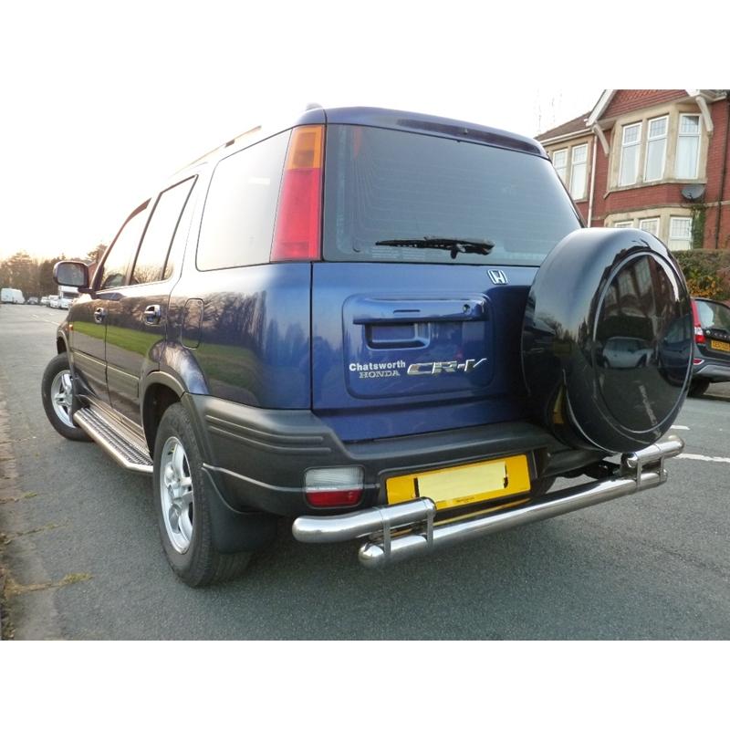 Honda Cr-V Crv 1997-2001 Rear Bar Back Bumper Protector Stainless Steel | eBay