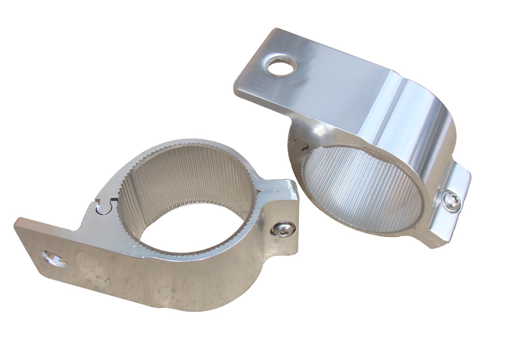 E29 3 0 Quot Spot Light Bar Clamp Bracket Silver 3 Quot 76mm Large
