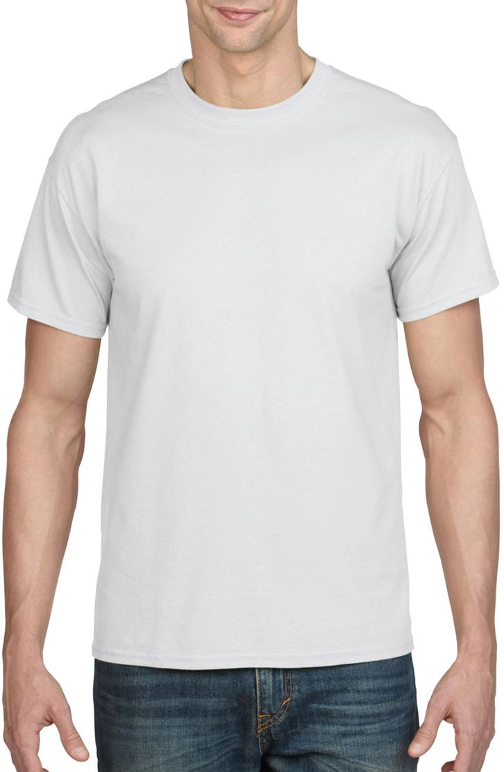 Gildan Heavy PolyCotton T-Shirt Mens Short Sleeves Moisture-Wicking Plain Tee