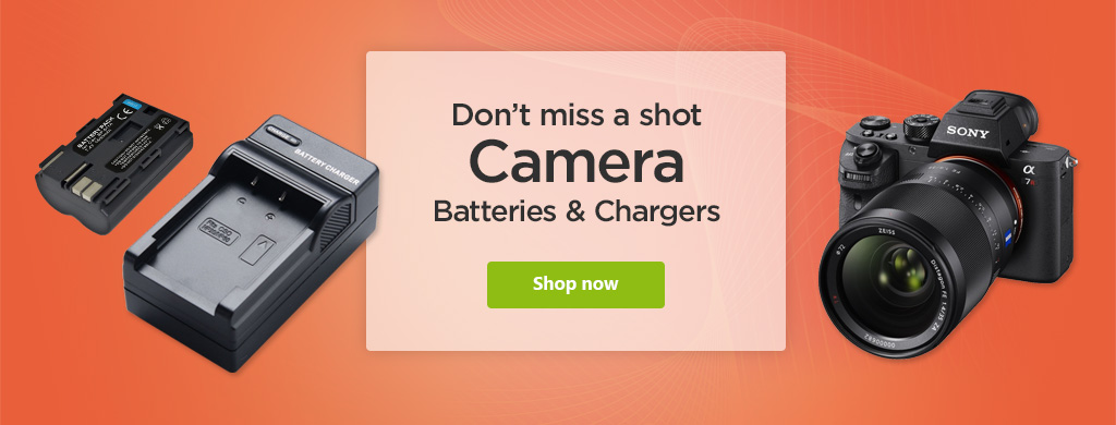 Camera Batteries and Chargers