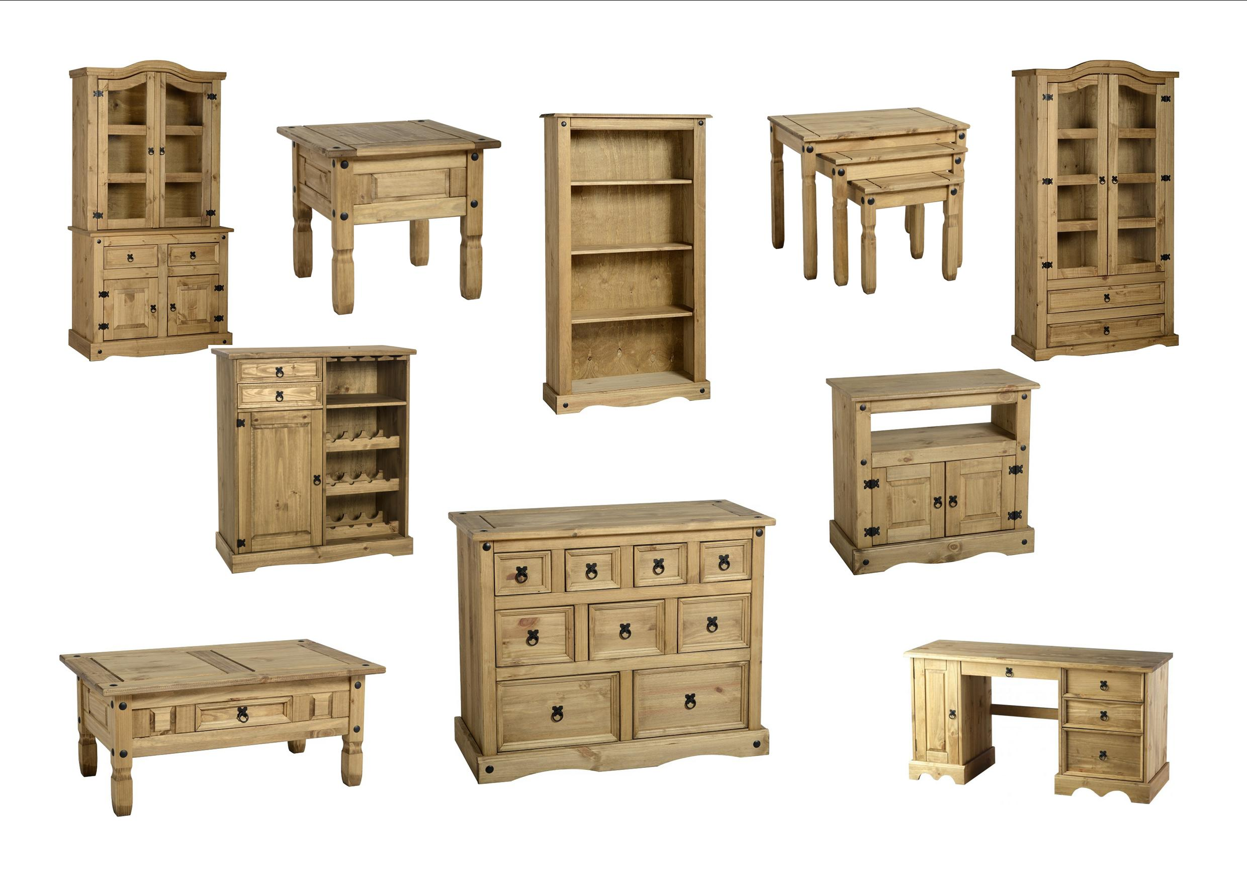 seconique corona downstairs range solid mexican pine. Black Bedroom Furniture Sets. Home Design Ideas