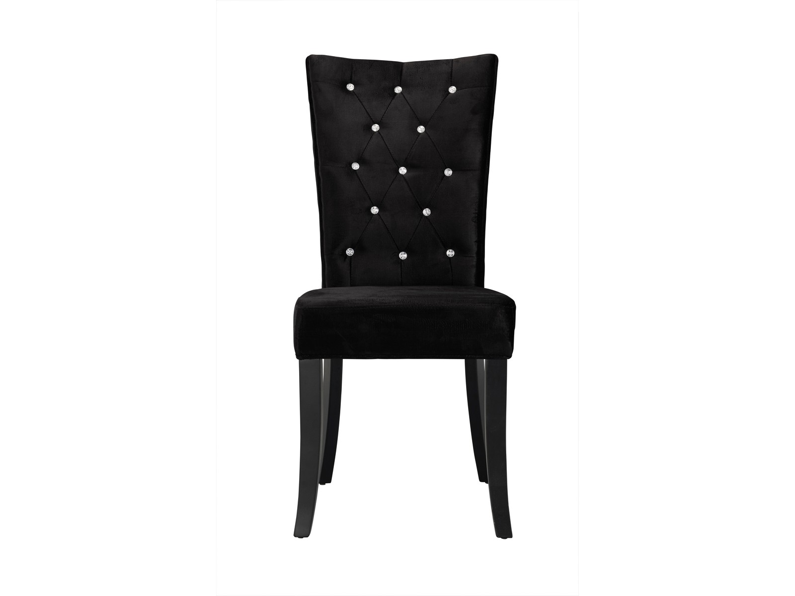 Radiance Velvet Dining Chairs X 2 Black Purple Grey EBay
