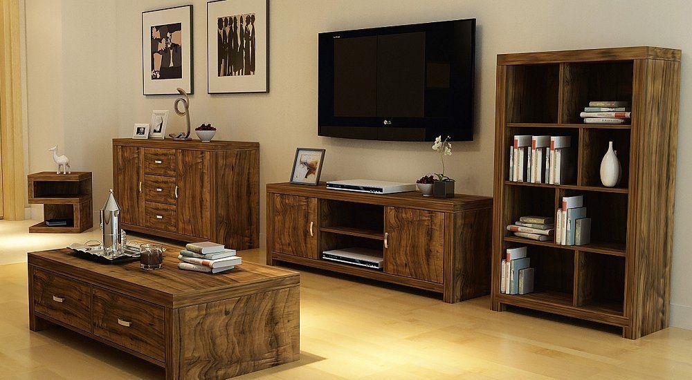 Awesome Hampton Warm Acacia Living Room Furniture   Sideboard TV Cabinet Coffee  Table