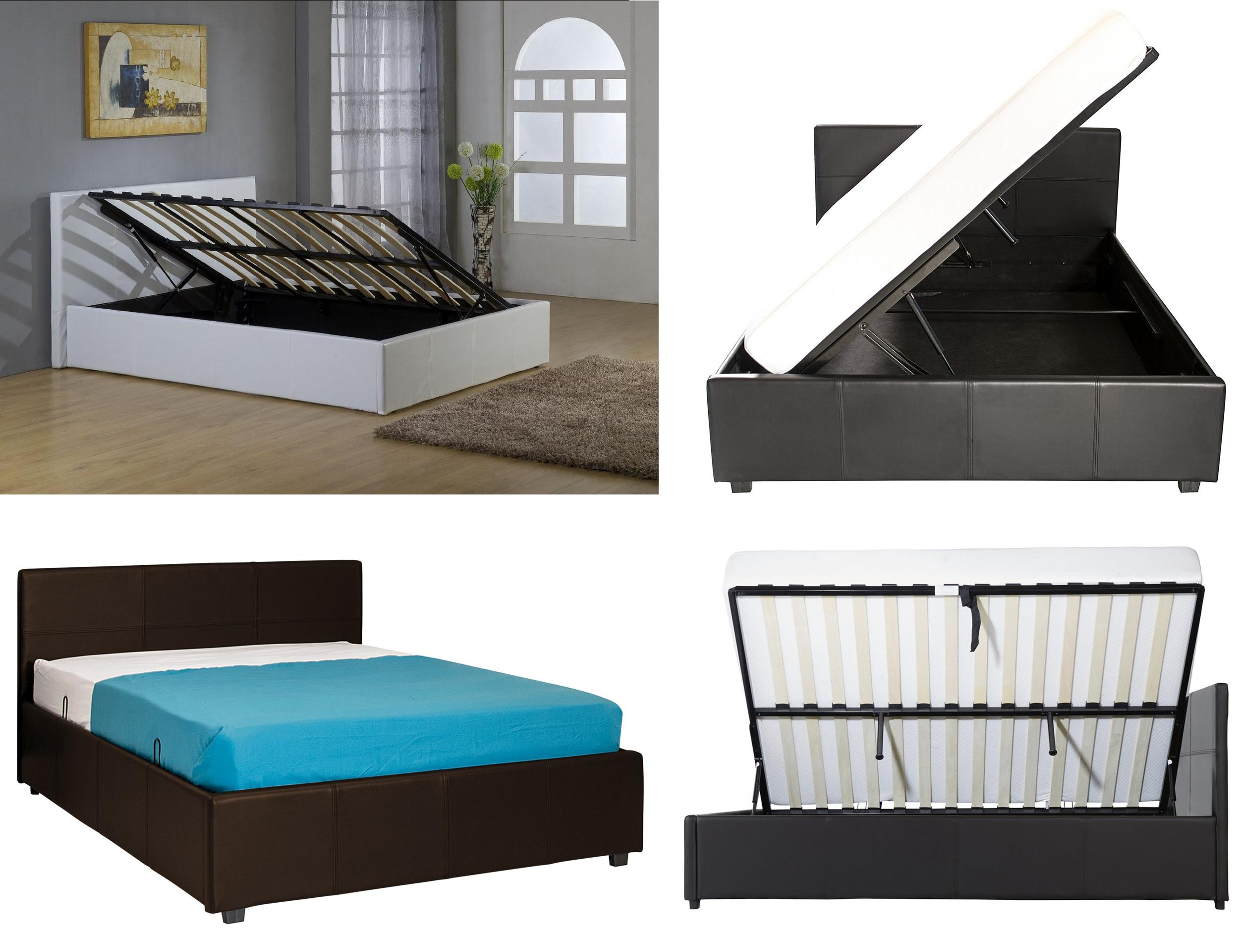 image of divan canopy beds king size with storage