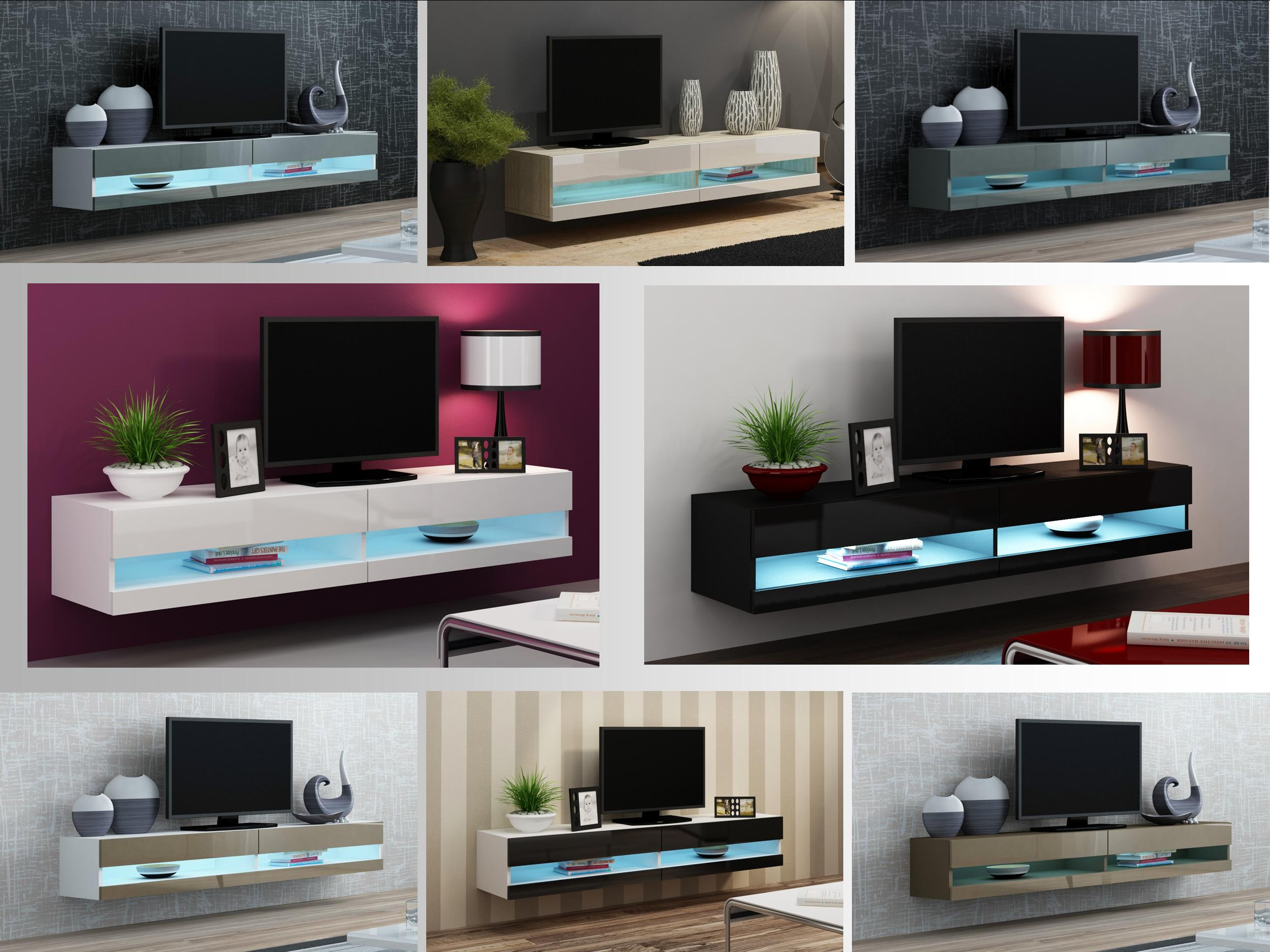 Collections Of On Wall Tv Cabinet Free Home Designs Photos Ideas - Tv wall units ebay