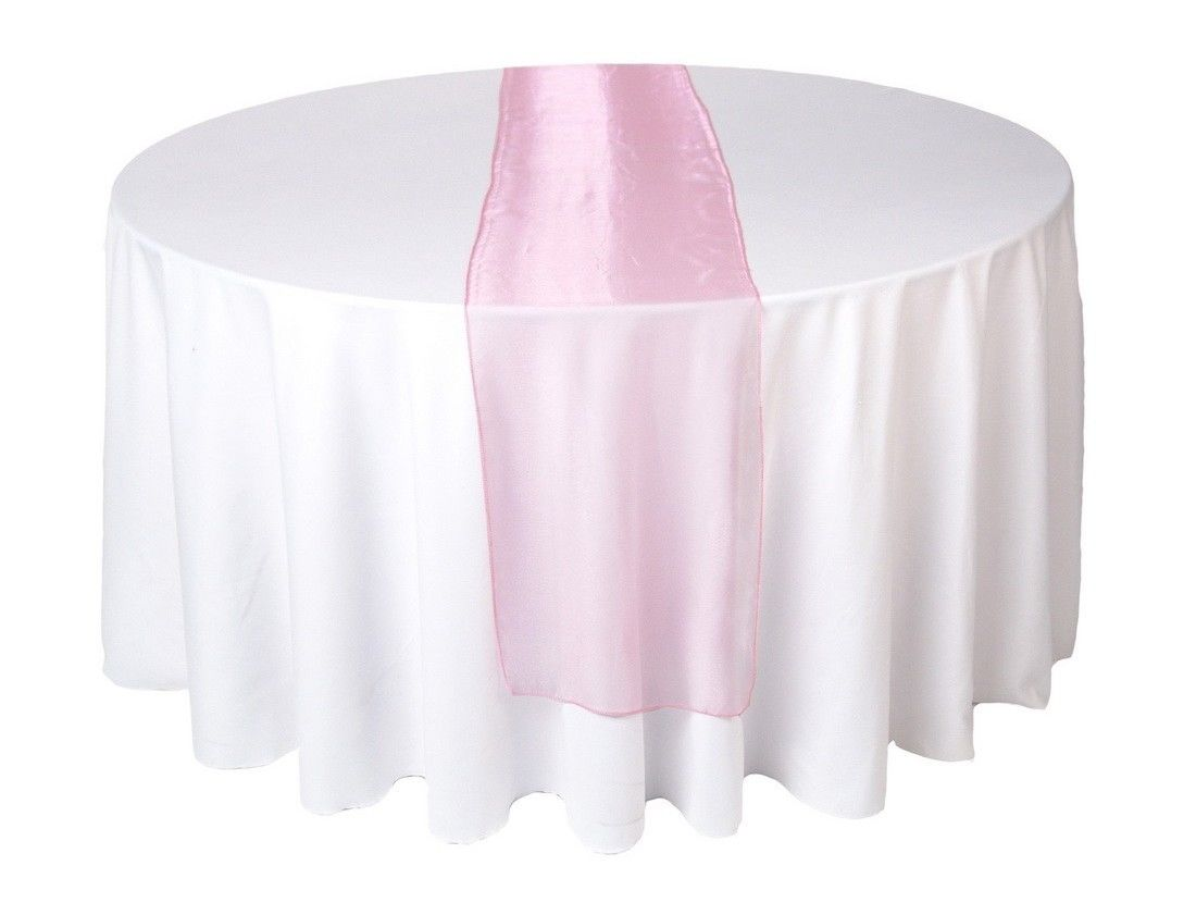 Wedding Organza Table Runners Many Colours New Uk