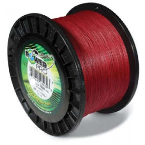 Power pro usa spectra braid fishing line 50lb 1500yd 23kg for Red fishing line