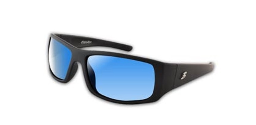 Bimini Bay Polarized Sport Glasses Black Frame Blue Lens ...