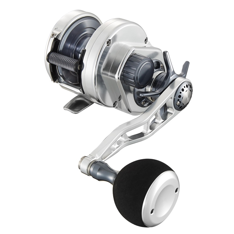 Maxel hybrid conventional star drag jigging jig reel hy20l for Left handed fishing reels