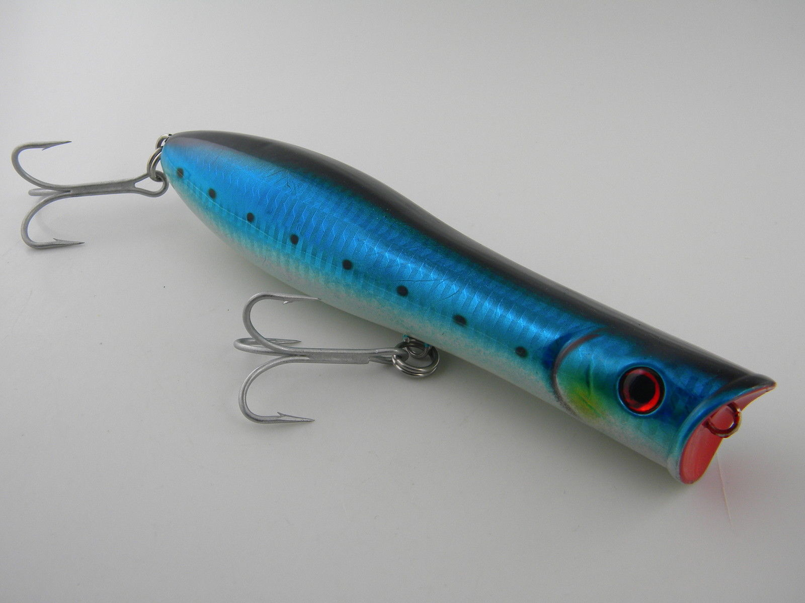 Tsunami talkin pencil popper 5 gt striper lure dawn for Fishing poppers for bass