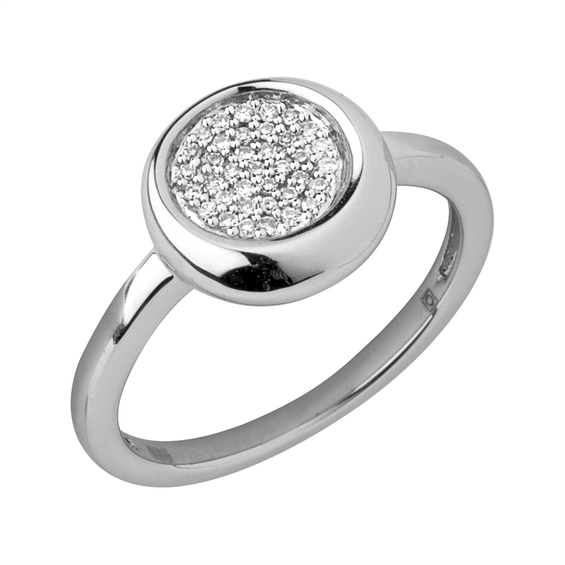 Links of London Womens Pure Diamond Pave Ring N