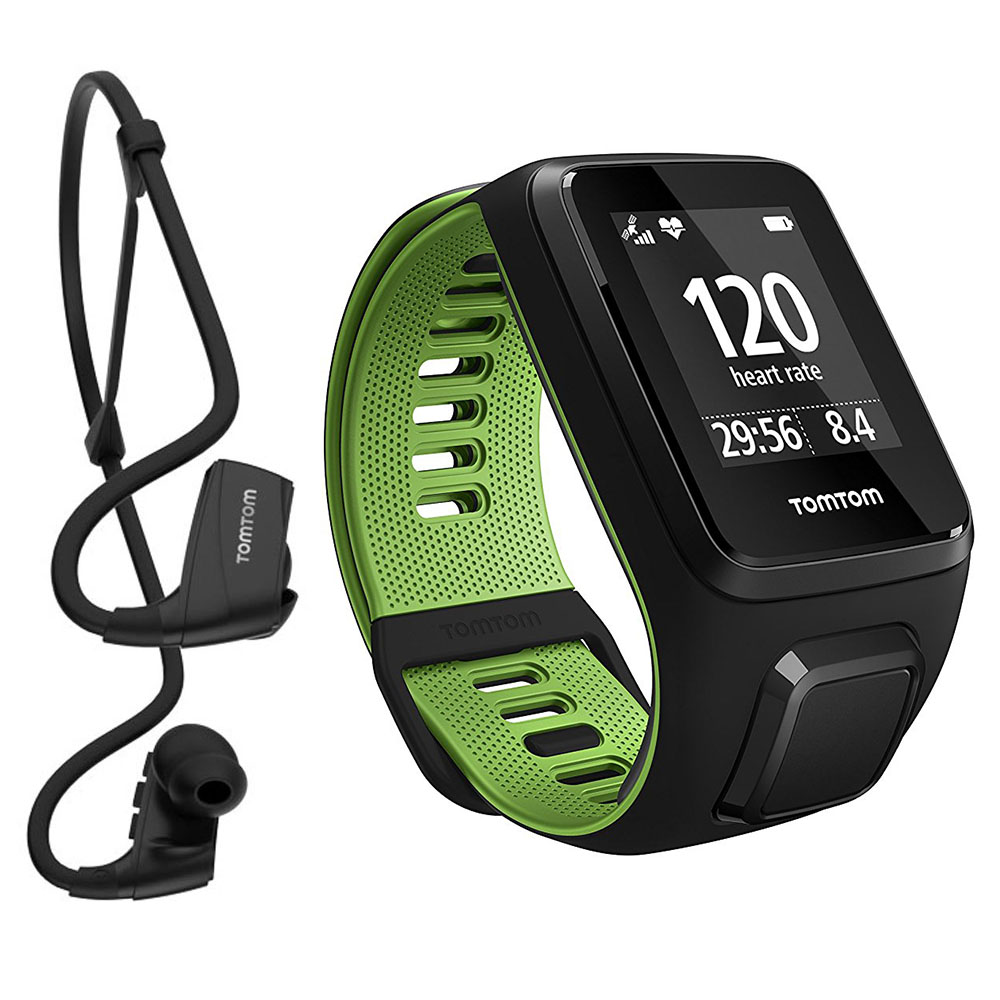 TomTom Runner 3 Cardio Music GPS Fitness Watch & Bluetooth ...