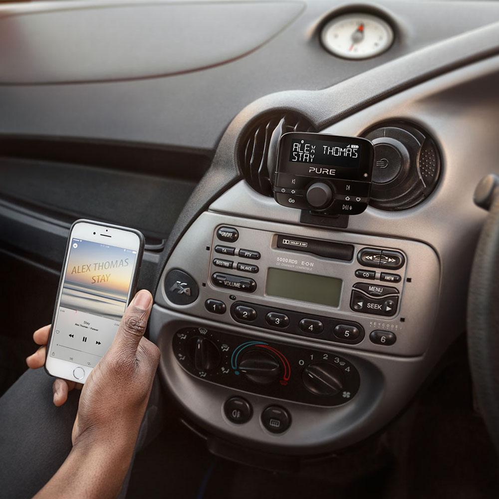 pure highway 600 in car dab digital radio adapter. Black Bedroom Furniture Sets. Home Design Ideas