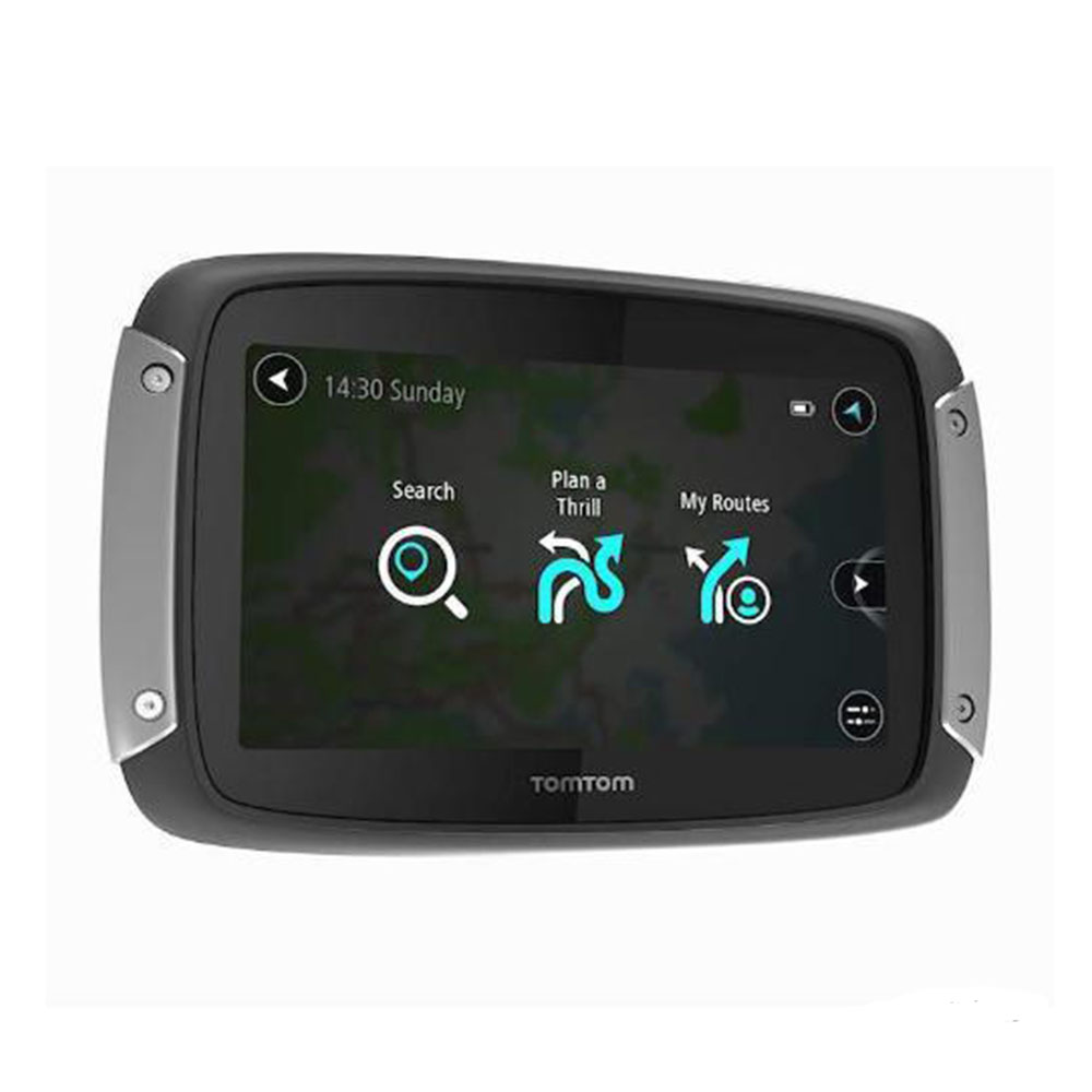 tomtom rider 410 great rides edition gps satnav lifetime. Black Bedroom Furniture Sets. Home Design Ideas