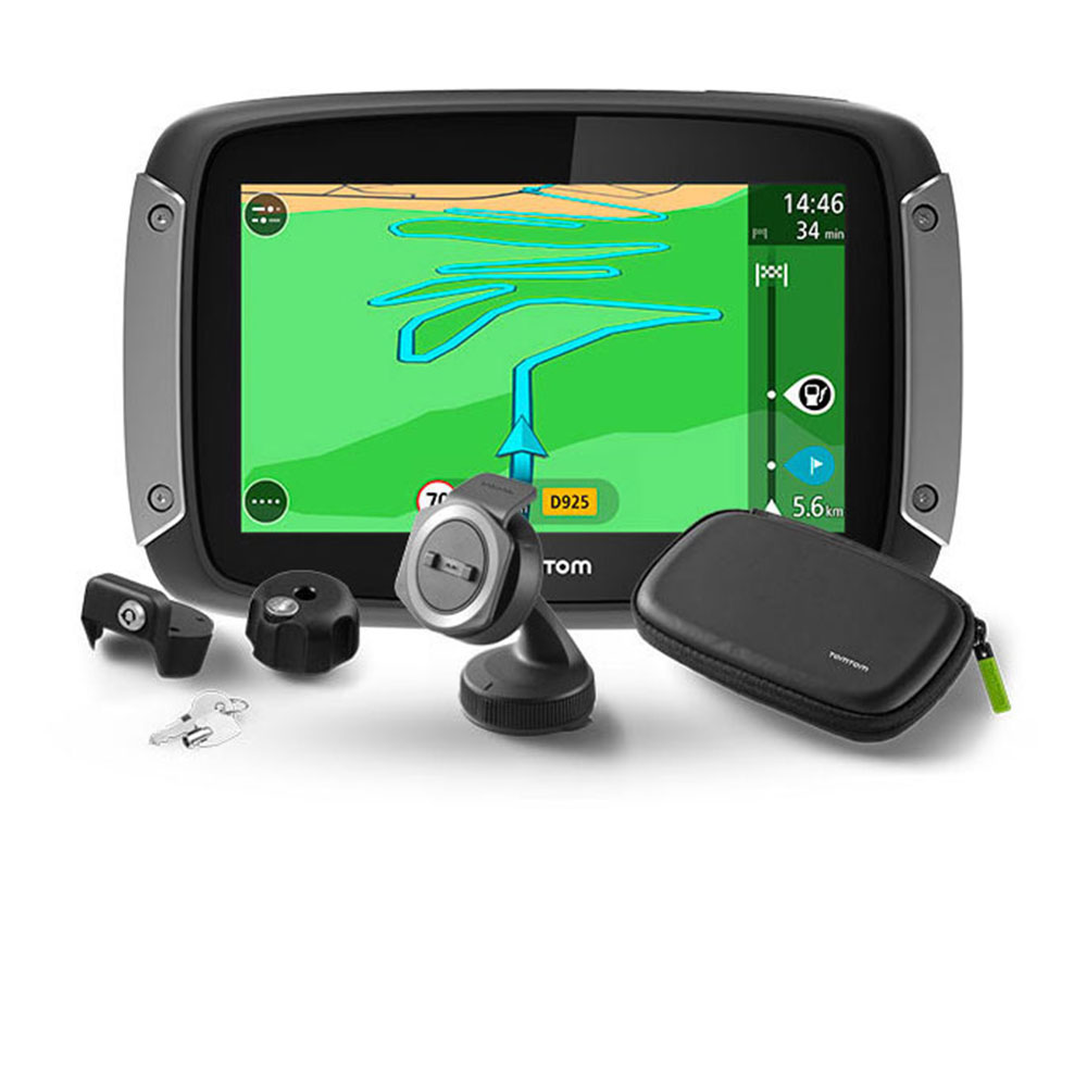 tomtom rider 400 premium pack motorcycle gps sat nav lifetime uk europe 45 maps ebay. Black Bedroom Furniture Sets. Home Design Ideas