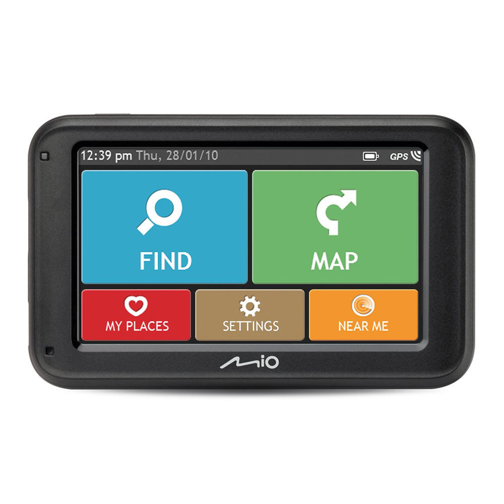 mio moov m410 europe satellite navigation system sat nav with tomtom iq routes 5420027519272 ebay. Black Bedroom Furniture Sets. Home Design Ideas