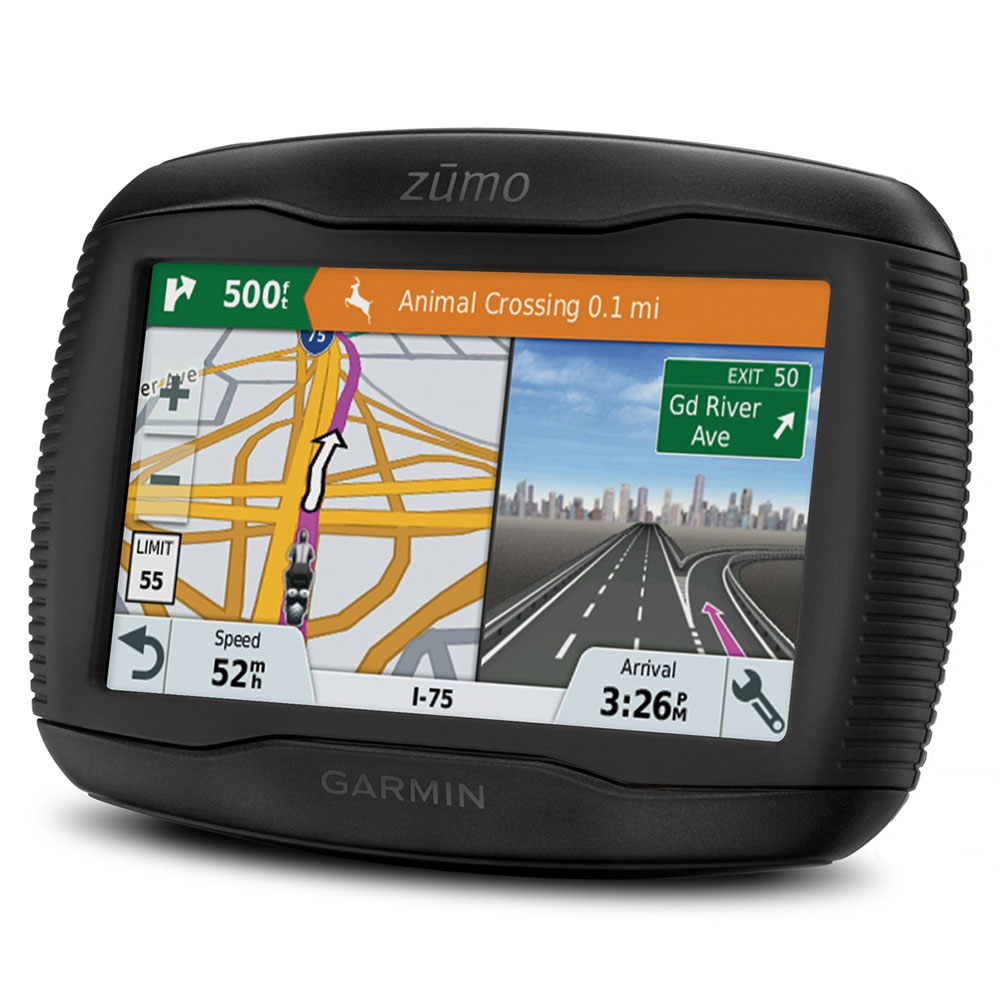 garmin zumo 345lm motorcycle bike sat nav gps uk europe lifetime map updates ebay. Black Bedroom Furniture Sets. Home Design Ideas