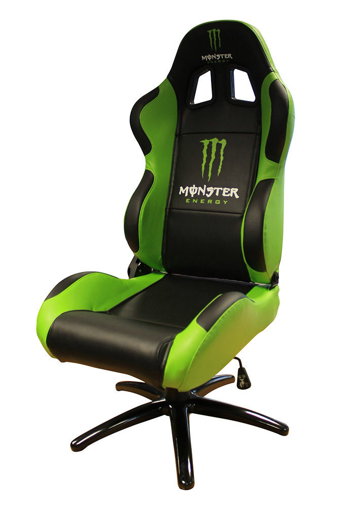 Monster Energy Office Executive Sports Bucket Chair Seat