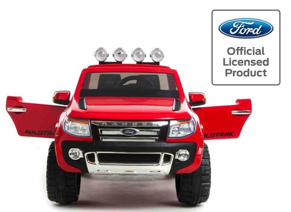 licensed ford ranger 12v kids electric ride on jeep electric car red