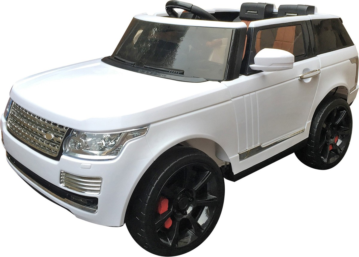 Range Rover SVR Sport Autobiography Style 12v Electric Ride On Car - White
